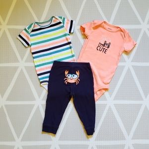 Carter's 3 Piece Pinch Me Set